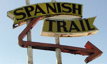 Spanish Trail Motel sign