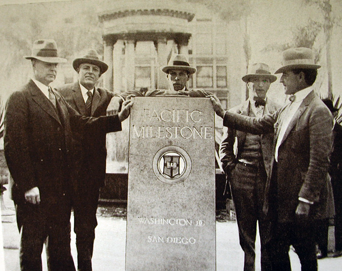Pacific Milestone dedication