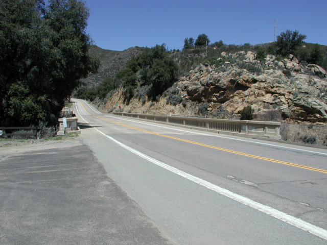 Pine Valley Creek bridge
