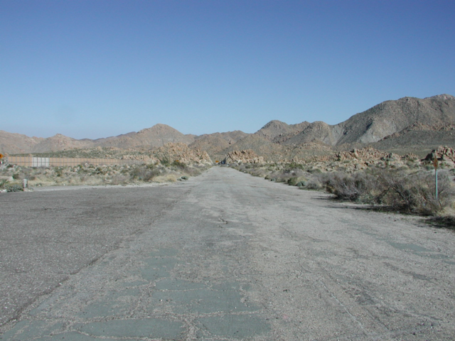 US 80 at Mtn Springs