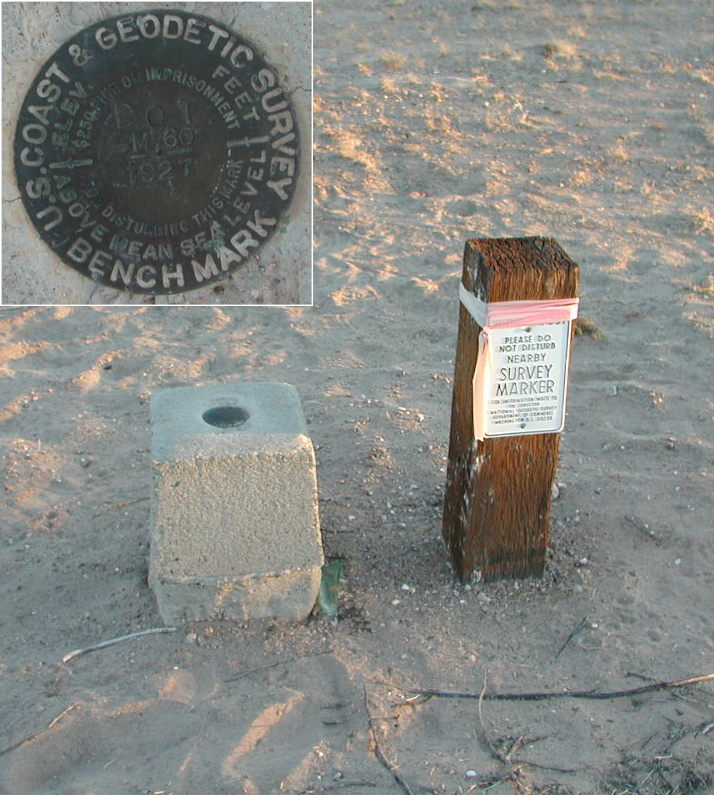 NGS Survey Marker