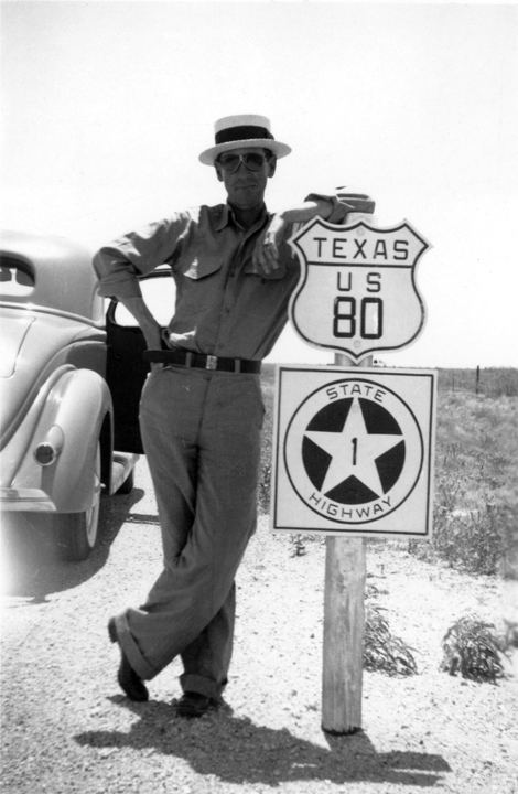 Old US 80 photo in Texas